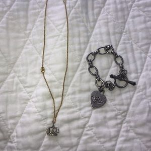 Juicy Couture Bracelet and Necklace